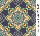 seamless pattern. vintage... | Shutterstock . vector #449529640