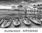Jet Skis And Buildings Of Key...