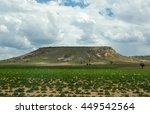 rural landscape in cappadocia ... | Shutterstock . vector #449542564