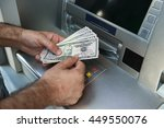 getting the cash | Shutterstock . vector #449550076