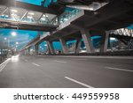 empty city road surface floor... | Shutterstock . vector #449559958