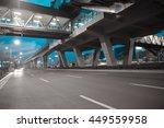 empty city road surface floor... | Shutterstock . vector #449559958