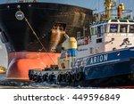 port of amsterdam  noord...   Shutterstock . vector #449596849