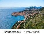dubrovnik  old city. croatia.   Shutterstock . vector #449607346