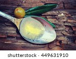 olive oil.  dieting concept.... | Shutterstock . vector #449631910