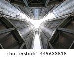 Towers Of Grain Drying...