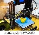 three dimensional printing... | Shutterstock . vector #449664868