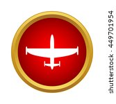 aircraft icon in simple style... | Shutterstock .eps vector #449701954