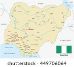 vector map of federal republic... | Shutterstock .eps vector #449706064