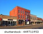town depiction   | Shutterstock . vector #449711953