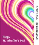 valentine card | Shutterstock .eps vector #44972071