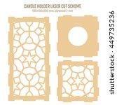diy laser cutting vector scheme ...   Shutterstock .eps vector #449735236