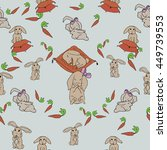 postcard depicting different...   Shutterstock .eps vector #449739553