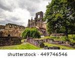 kirkstall abbey near leeds. | Shutterstock . vector #449746546