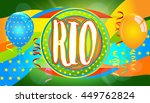 rio abstract colorful banner.... | Shutterstock .eps vector #449762824