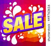sale. | Shutterstock .eps vector #449763616