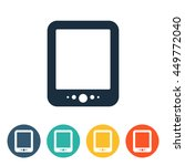 media icons   tablet | Shutterstock .eps vector #449772040