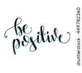 vector hand lettering be...   Shutterstock .eps vector #449782360