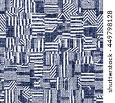 abstract geometric motif.... | Shutterstock . vector #449798128