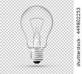 bulb.   Shutterstock .eps vector #449802253
