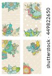 collection of colorful cards... | Shutterstock .eps vector #449822650