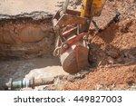 Excavator  Bulldozer Work A...