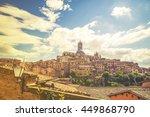 siena italy circa september... | Shutterstock . vector #449868790