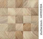 Seamless End Grain Wood Textur...