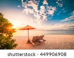 beautiful beach background for... | Shutterstock . vector #449906908