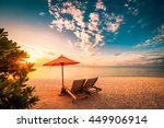 beautiful beach background for... | Shutterstock . vector #449906914