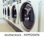 industrial laundry machines in... | Shutterstock . vector #449920696