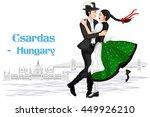 vector design of hungarian... | Shutterstock .eps vector #449926210