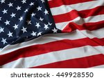 us flag | Shutterstock . vector #449928550
