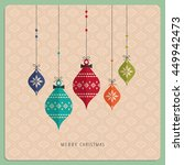 christmas card | Shutterstock .eps vector #449942473