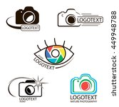 vector collection of... | Shutterstock .eps vector #449948788