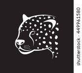 Vector Image Of An Cheetah Fac...