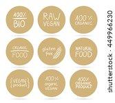 vector illustration of healthy... | Shutterstock .eps vector #449966230
