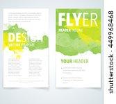 abstract vector brochure... | Shutterstock .eps vector #449968468