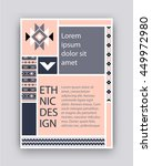 template to cover your client ... | Shutterstock .eps vector #449972980