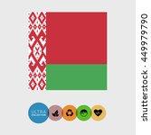 belarus flag | Shutterstock .eps vector #449979790