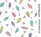 seamless pattern with hand...   Shutterstock .eps vector #449986540