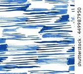 stripes indigo blue stylish... | Shutterstock . vector #449987950