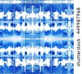 watercolor psychedelic shibori... | Shutterstock . vector #449987968