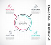 thin line flat elements for... | Shutterstock .eps vector #449999986