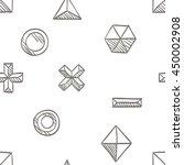 seamless background pattern of...   Shutterstock .eps vector #450002908