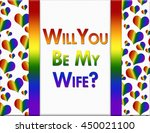 lgbt will you  be my wife