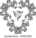 vector tribal tattoo   Shutterstock .eps vector #45002305
