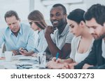happy to be a part of grat team.... | Shutterstock . vector #450037273