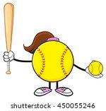 softball girl faceless cartoon...