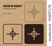 center of gravity vector... | Shutterstock .eps vector #450057178